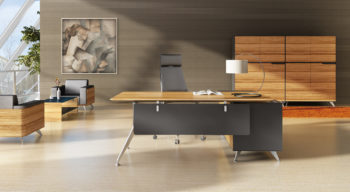 Novara Desk with Return