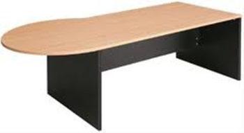P Shape Desk
