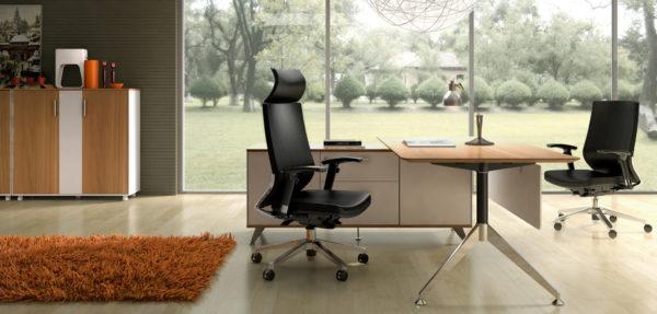 Potenza Desk with Return