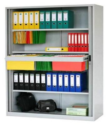 Tanbour Door Cabinet 4 shelves